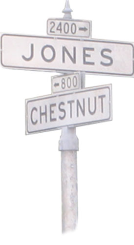Where Chestnut meets Jones